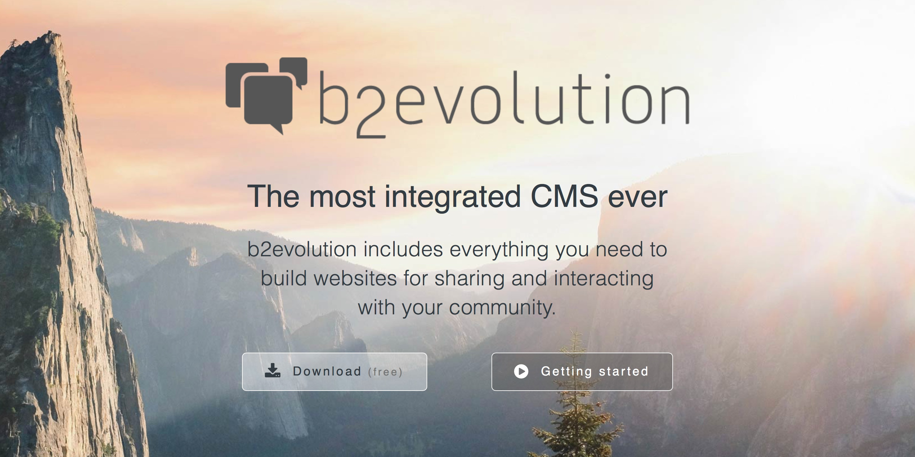 b2evolution blog/social CMS - A complete engine for your website!