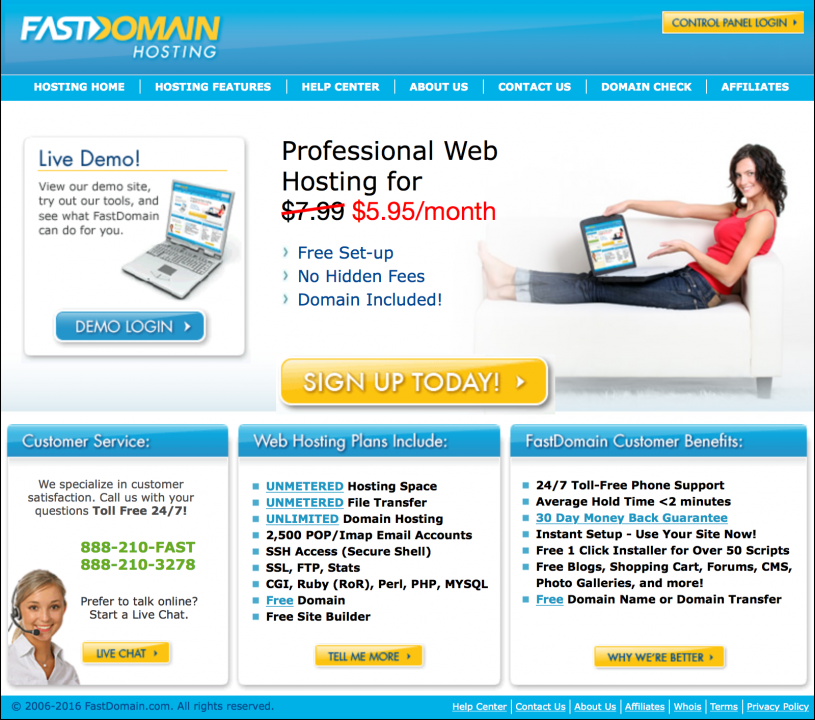 FastDomain Review