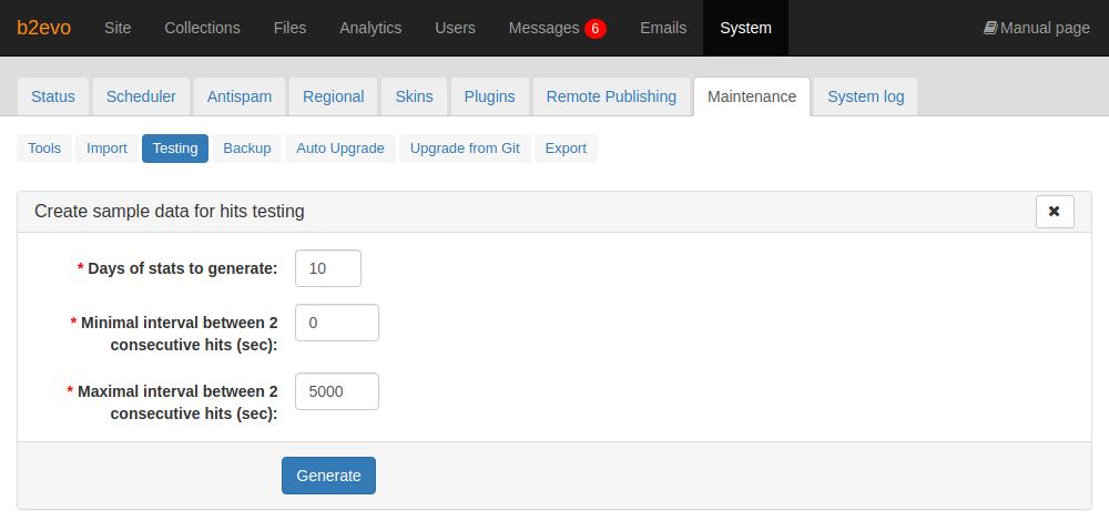 Create Sample Hit Data Tool