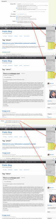 SEO Tag Pages Panel