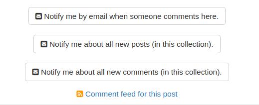 Individual Post Subscriptions Panel