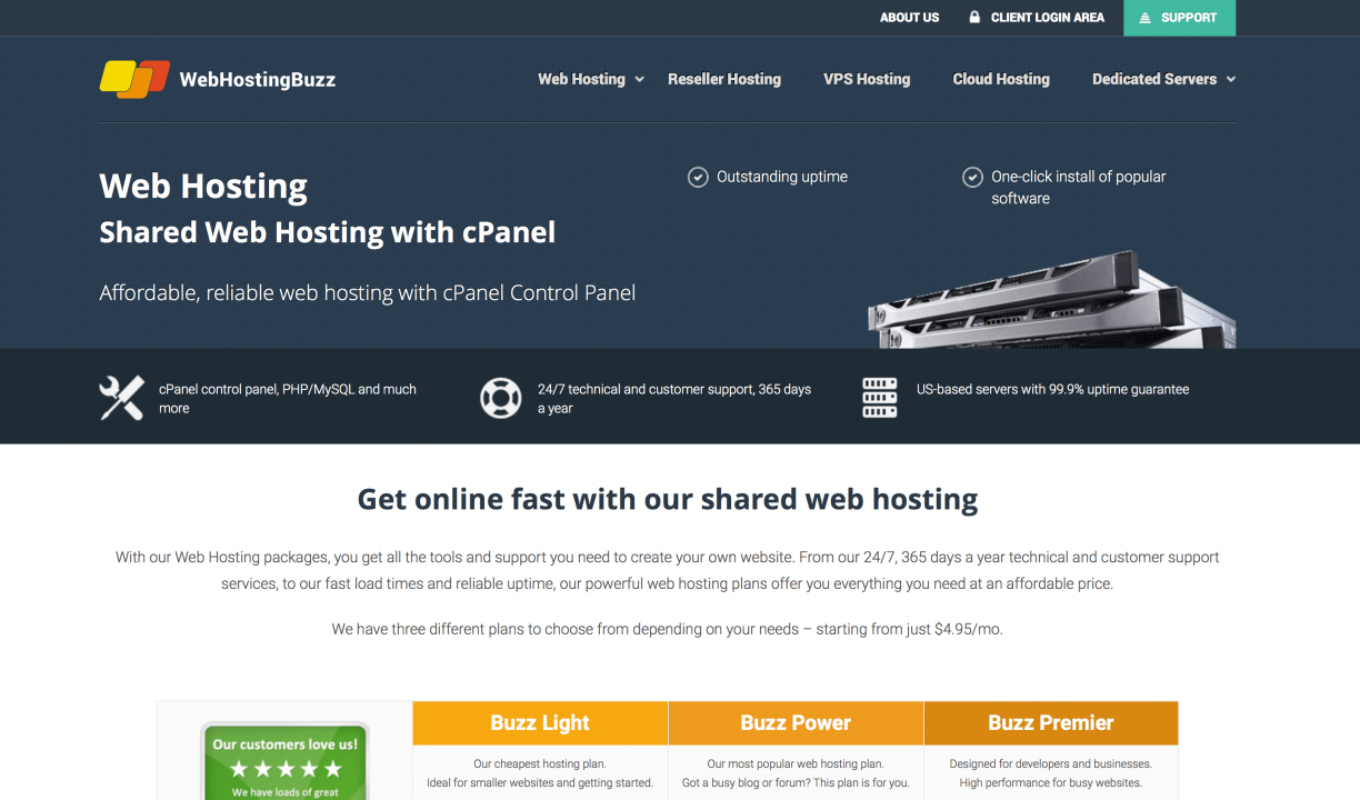WebHostingBuzz pricing review